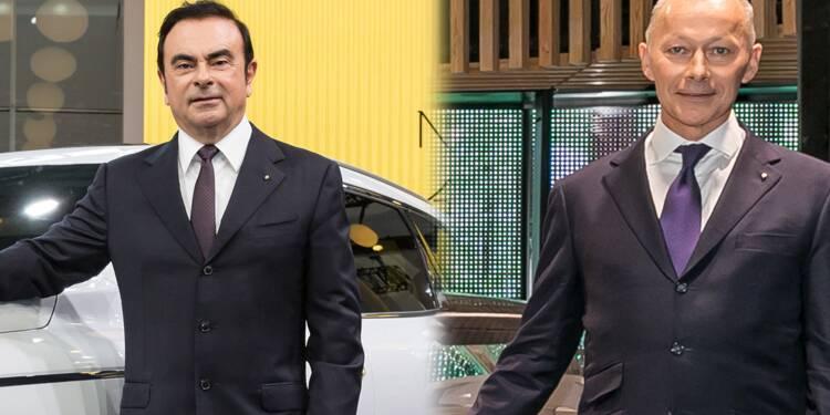 Carlos Ghosn rempile à la tête de Renault, Thierry Bolloré devient N°2