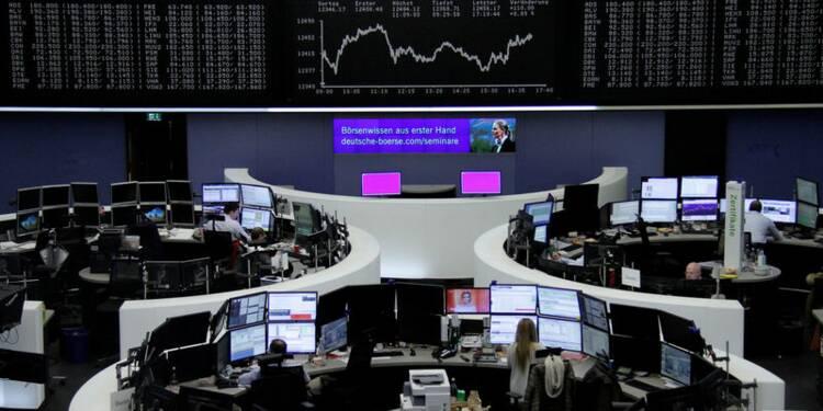 Les actions européennes terminent fort une semaine de rebond