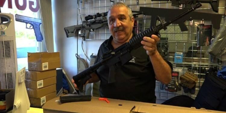 AR-15, un des fusils d'assaut les plus vendus aux Etats-Unis