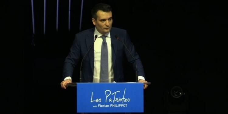 Florian Philippot réunit son parti en congrès fondateur à Arras
