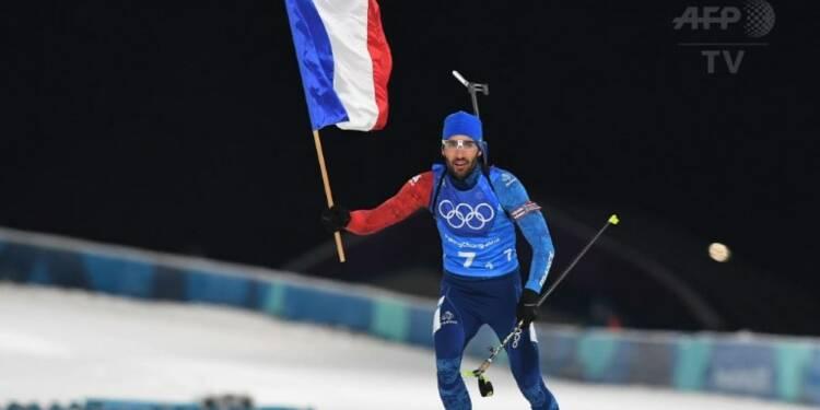 JO-2018: Fourcade devient le Français le plus titré