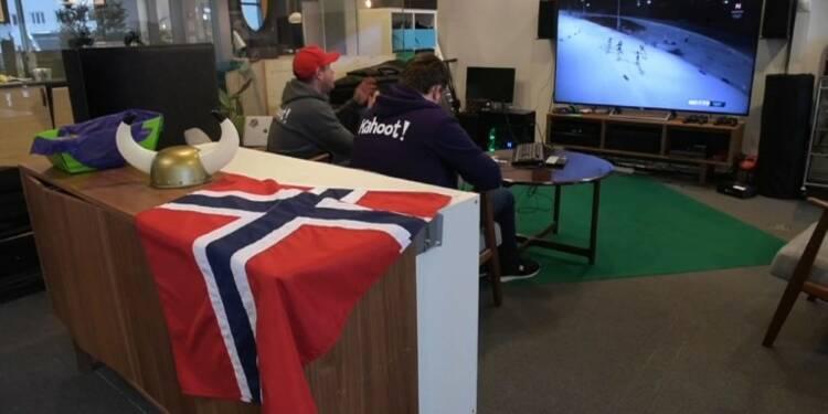 En Norvège, les JO d'hiver s'invitent même au travail
