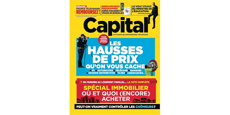 Vos magazines Capital, chez votre marchand de journaux ce mois-ci
