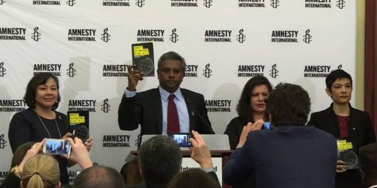 Amnesty dénonce la politique de la haine dans son rapport annuel