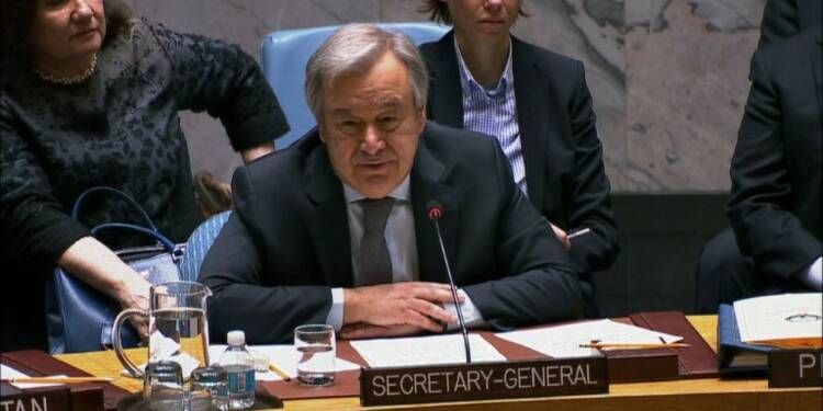 Syrie: Guterres réclame l'arrêt des combats en Ghouta orientale