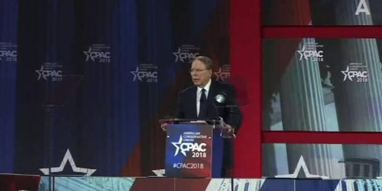 Le chef de la NRA dénonce les militants anti-armes