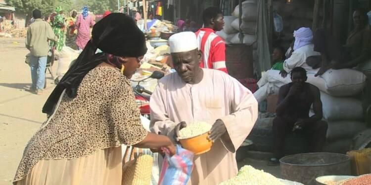 Diane, fonctionnaire au Tchad, a du mal à nourrir sa famille