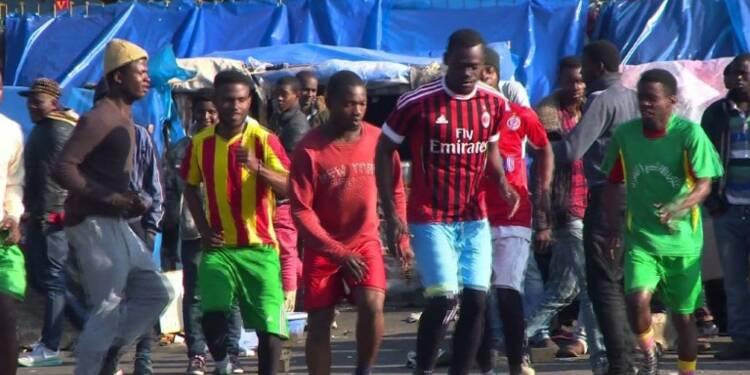 Maroc: le foot pour rêver de gloire et oublier sa vie de migrant