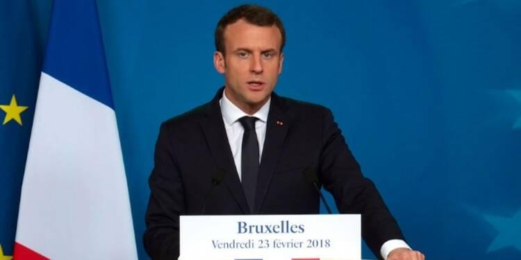 Bruxelles: Macron favorable à un budget européen