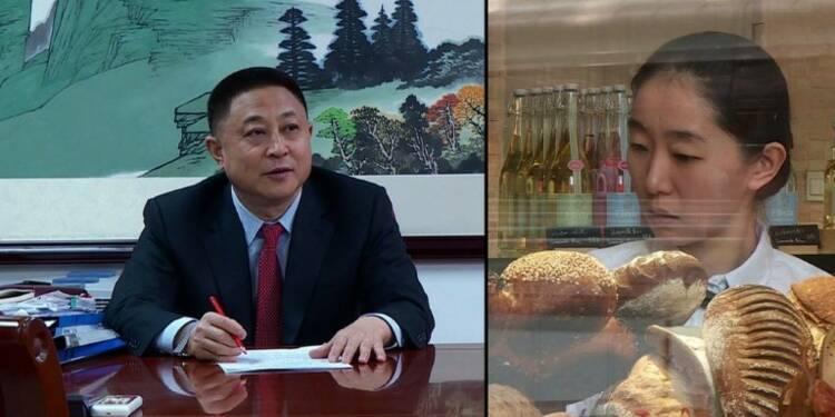 Avec ses champs français, Monsieur Hu fait du pain en Chine
