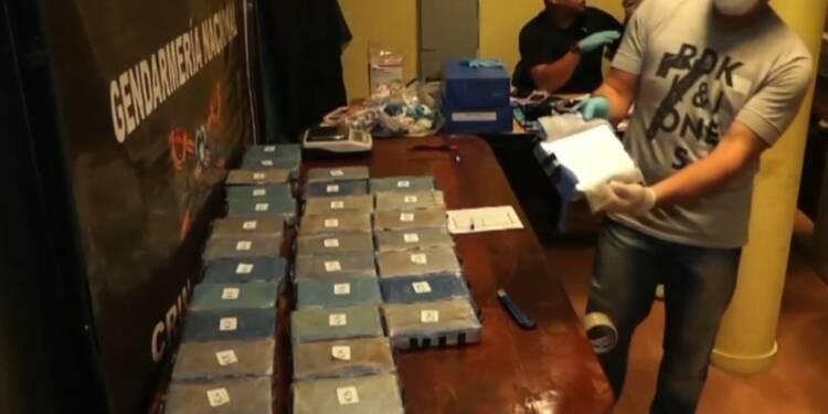 Argentine: 400 kilos de cocaïne dans l'ambassade de Russie