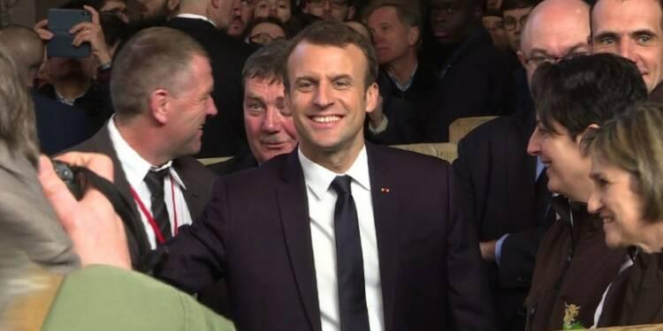 Macron au Salon de l'Agriculture pour