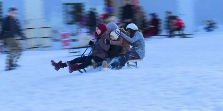 Le ski, sport oublié dans les montagnes d'Algérie