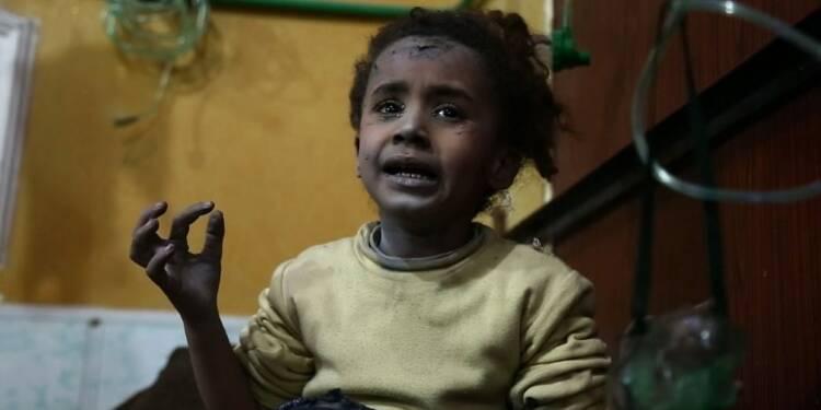 Syrie : violents combats entre régime et rebelles dans la Ghouta