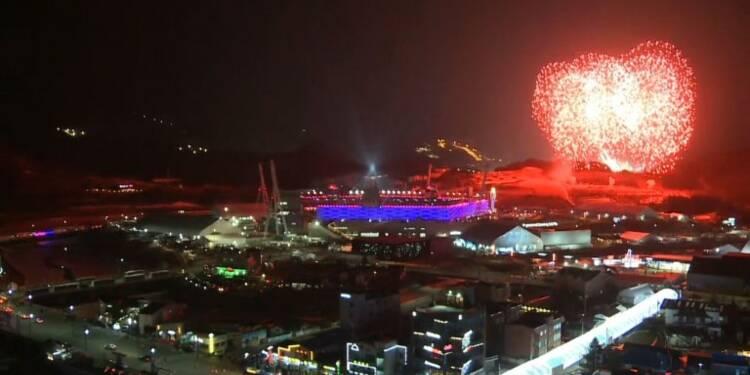 cérémonie de clôture des Jeux d'hiver 2018