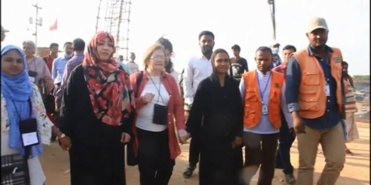Rohingyas: des Prix Nobel de la Paix interpellent Suu Kyi