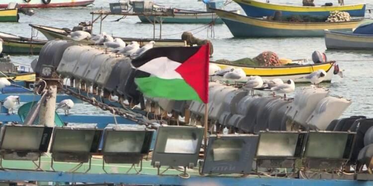 Les pêcheurs de la bande de Gaza en grève