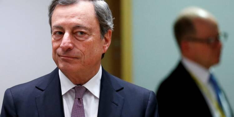 La sous-utilisation des capacités freine l'inflation, dit Draghi