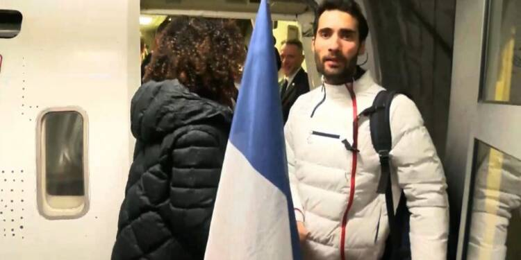 JO-2018: la délégation française de retour au pays