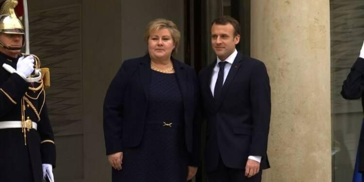 Le Brexit au coeur de la rencontre Macron-Solberg