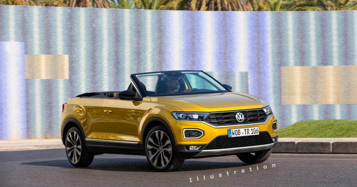 t roc cabriolet volkswagen officialise sa date de sortie. Black Bedroom Furniture Sets. Home Design Ideas