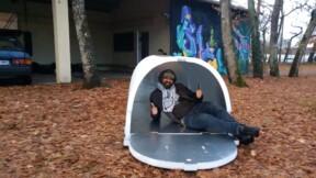 Un ingénieur invente un igloo pour protéger les SDF du froid