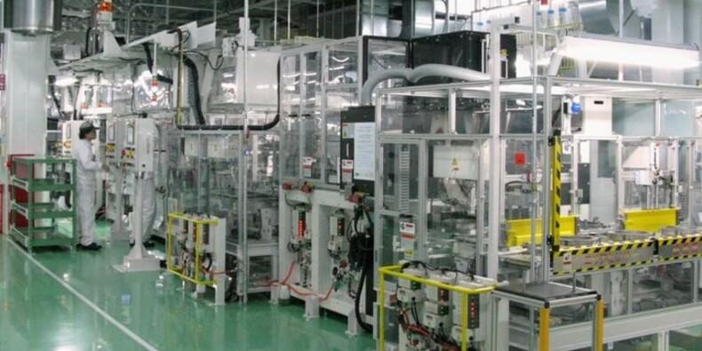 Japon: Chute de 6,6% de production industrielle en janvier