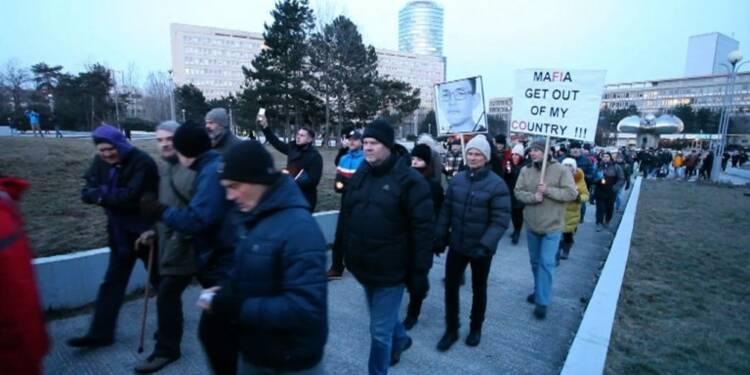 La Slovaquie sous le choc après le meurtre du journaliste Kuciak