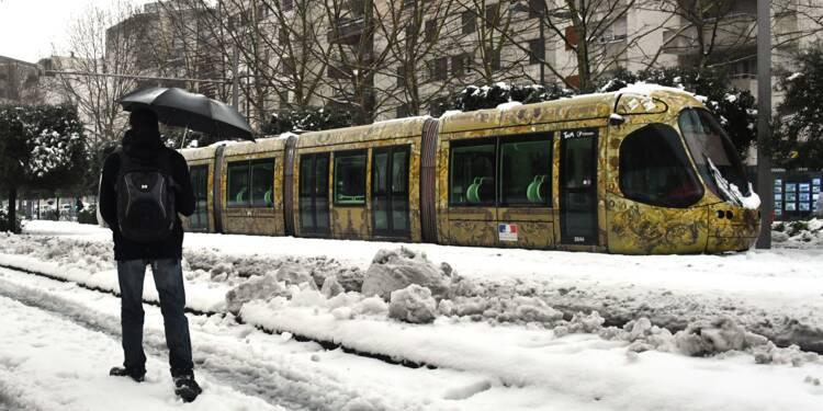 Neige: lent retour à la normale à Montpellier