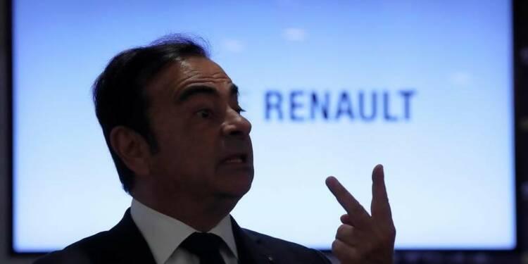 Renault-Nissan : Carlos Ghosn n'est pas opposé à l'idée d'une fusion