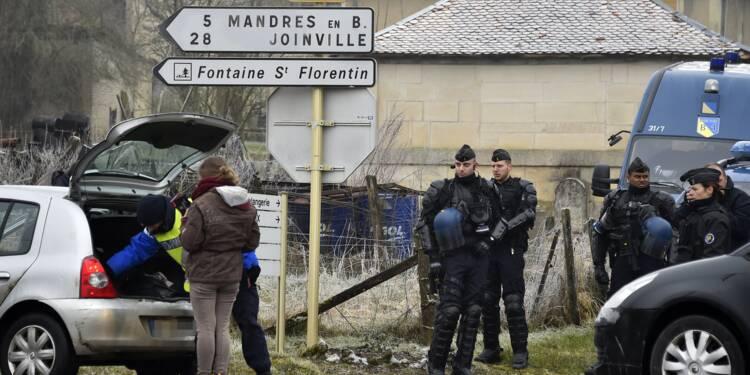 Bure: échauffourées mais pas d'incident entre anti-nucléaires et forces de l'ordre