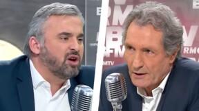 """Zapping politique : le ton monte entre Alexis Corbière et Jean-Jacques Bourdin sur la """"haine des médias"""""""