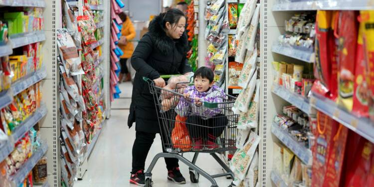 La croissance chinoise dans les services ralentit mais reste soutenue