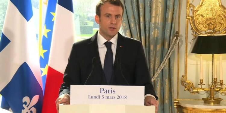 Macron met en garde contre