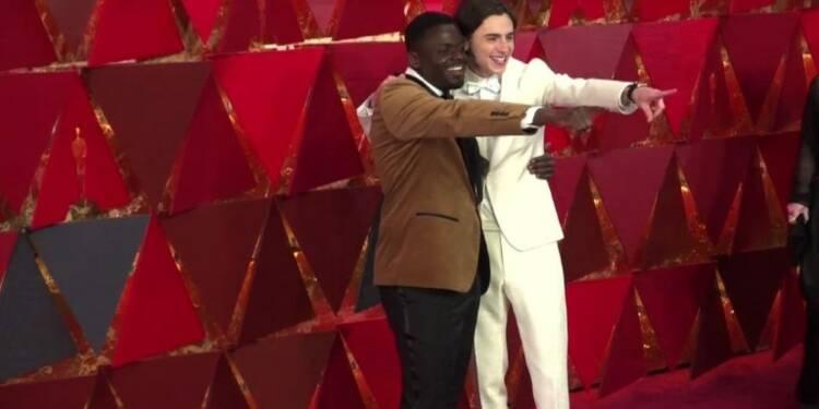 Défilé de stars d'Hollywood aux Oscars