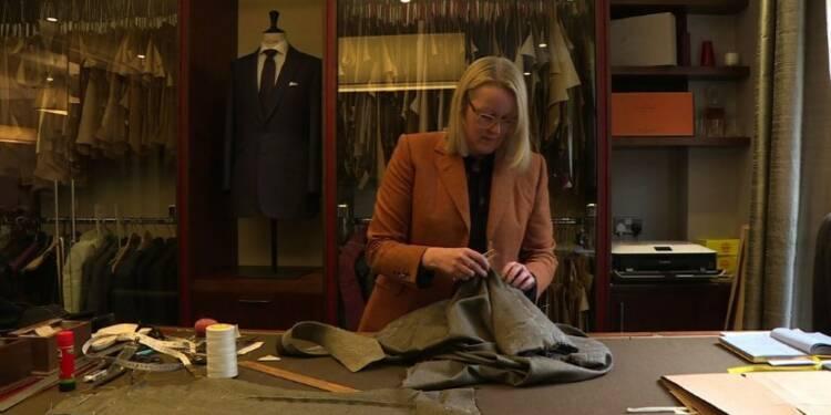 Journée internationale des femmes: portrait d'une femme tailleur