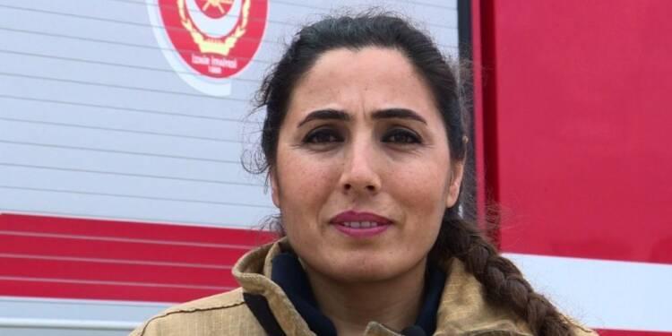 Journée internationale des femmes: portrait d'une femme pompier