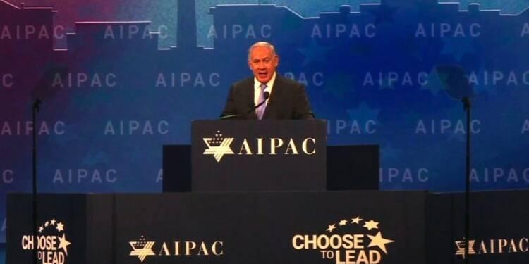 A l'AIPAC, Netanyahu veut