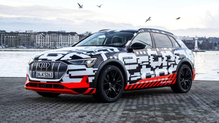 Salon de Genève 2018 : Audi e-tron, le SUV tout électrique en invité surprise