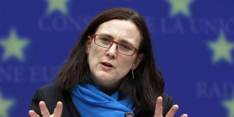 L'UE prête à réagir à des taxes sur l'acier, avertit Malmström
