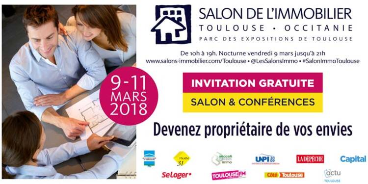 Capital partenaire du Salon immobilier de Toulouse