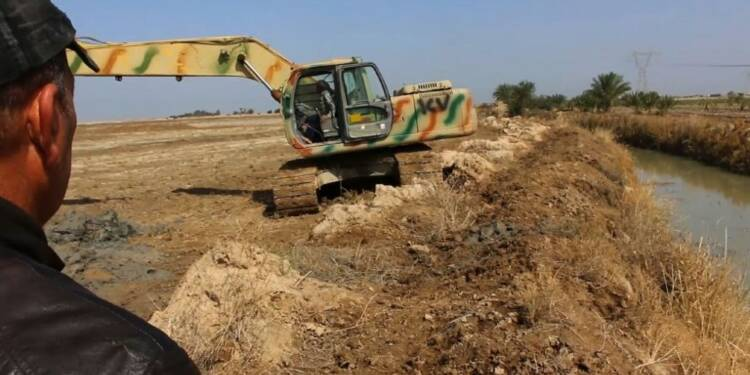 Irak: d'anciens combattants oeuvrent pour la reconstruction