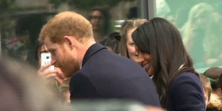 Le prince Harry et Meghan en visite à Birmingham