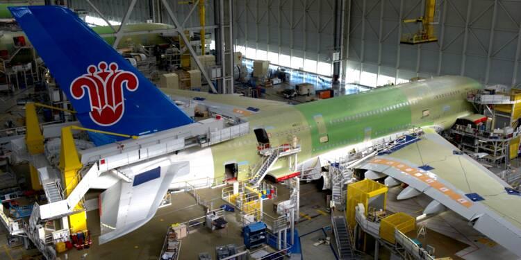 Baisse de cadences chez Airbus : 3.700 emplois menacés