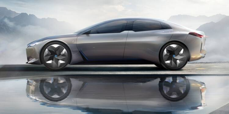 BMW iVision Dynamics, base de la future BMW i4