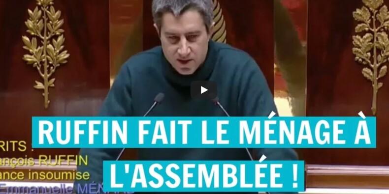 Le discours poignant de François Ruffin pour rendre hommage aux femmes de ménage de l'Assemblée nationale