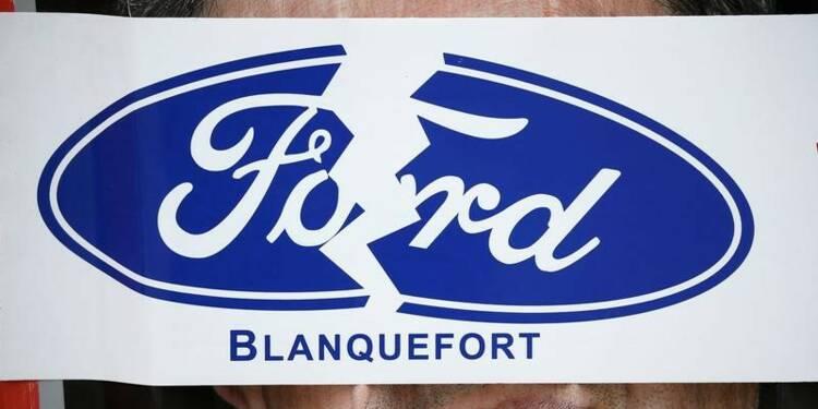 Journée usine morte chez Ford Blanquefort — Bordeaux
