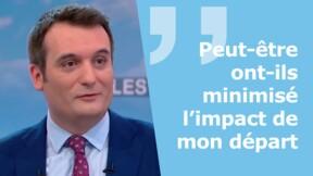 Zapping politique : Florian Philippot pense que son départ a déstabilisé le FN