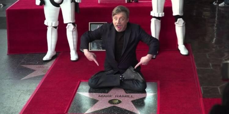 L'acteur de Star Wars Mark Hamill mis à l'honneur à Hollywood