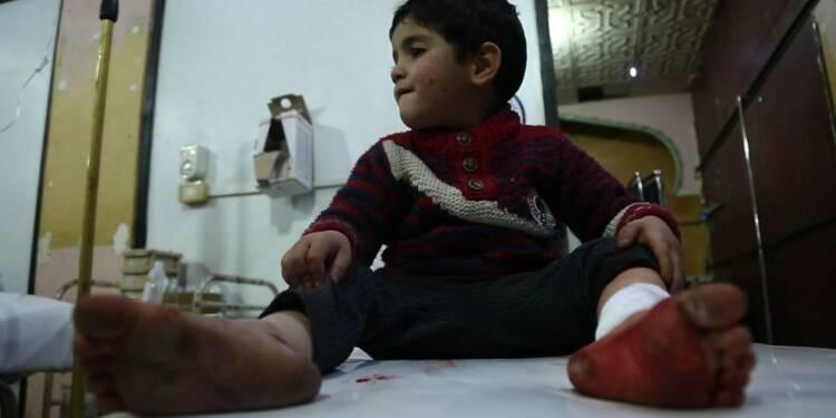 Les civils de la Ghouta orientale pris au piège des violences